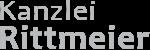 Kanzlei Rittmeier – Rechtsanwältin Logo